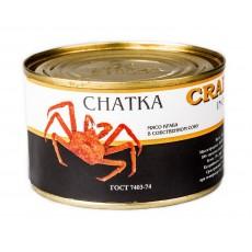 Мясо краба в собственном соку Extra CHATKA ж/б (240 гр)