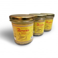 Печень трески в стекле (350 грамм)