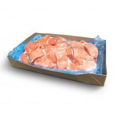 Куски лосося б/ш с/м Vikenco (NOR) (7 кг)