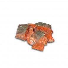 Куски лосося с/м з/ш 1 сорт DNK