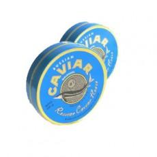 Банка жестяная для черной икры 250 грамм. (Russian Caviar Malossol)