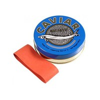 Банка жестяная для черной икры 125 грамм. (Caviar Malossol)