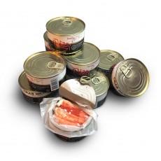 Мясо краба в собственном соку KAMCHATKA ж/б (240 гр) евроключ